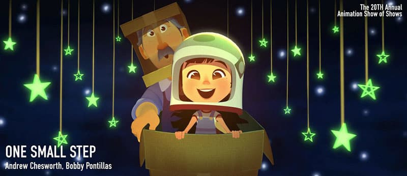 image from the animated film ONE SMALL STEP