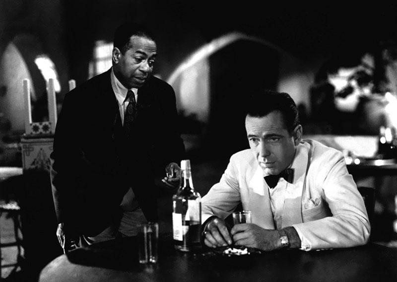 image from the film CASABLANCA