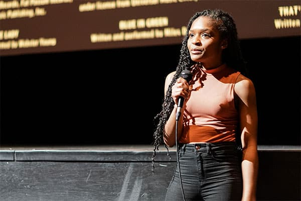 Dominique Thorne '19, If Beale Street Could Talk, March 2019