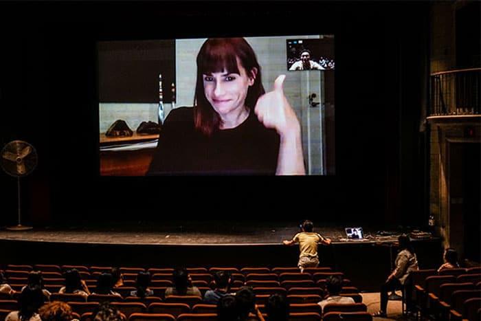 Filmmaker Jill Magid '95 (via Skype) THE PROPOSAL, Sept 2019