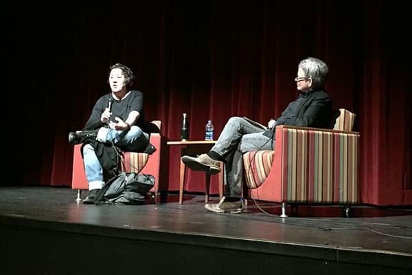 Producer Christine Vachon & Ithaca College professor / filmmaker Cathy Crane, March 2019