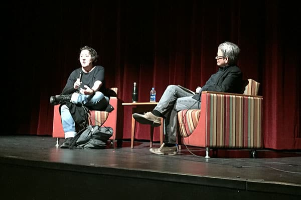 Producer Christine Vachon & Ithaca College professor / filmmaker Cathy Crane, March 2019