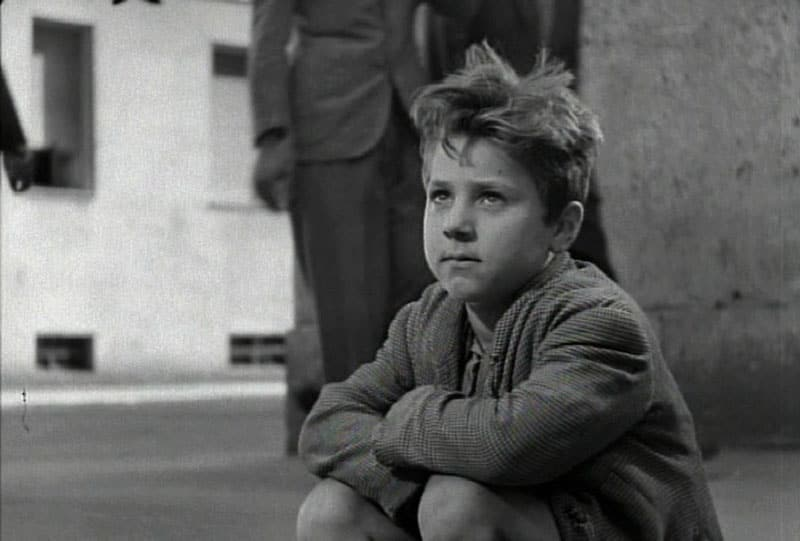 image from the film BICYCLE THIEVES