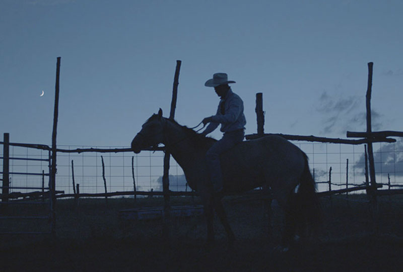 image from the film THE RIDER