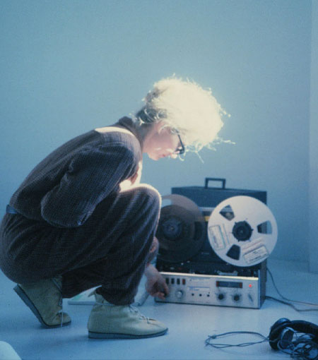 image from the film SISTERS WITH TRANSISTORS (photo courtesy of Peggy Weil)