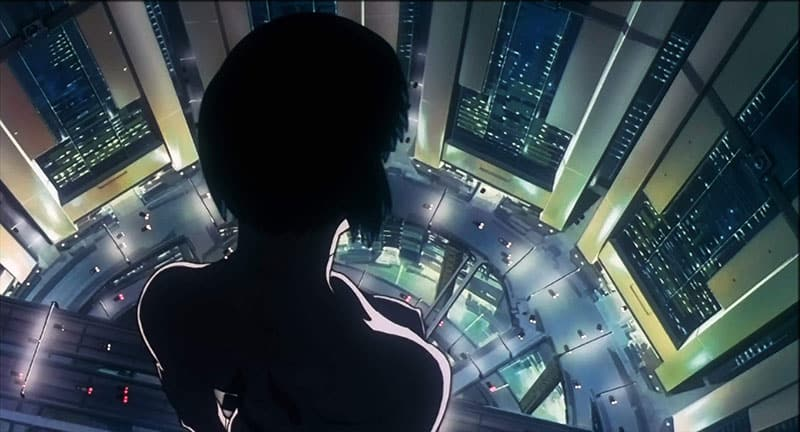 image from the film GHOST IN THE SHELL