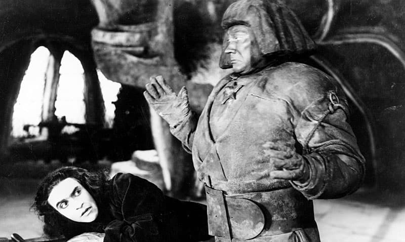 Image from the film THE GOLEM