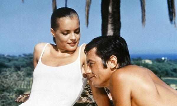 Scene from the film La Piscine