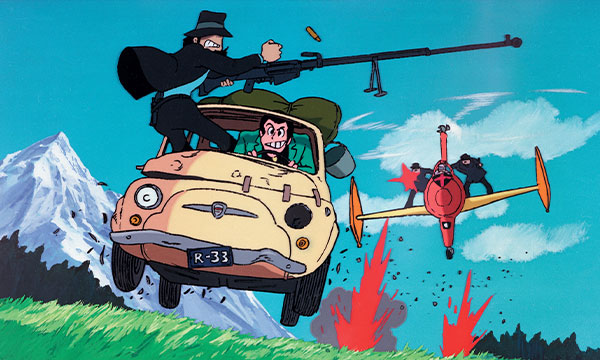 Scene from the film Lupin the 3rd: The Castle of Cagliostro