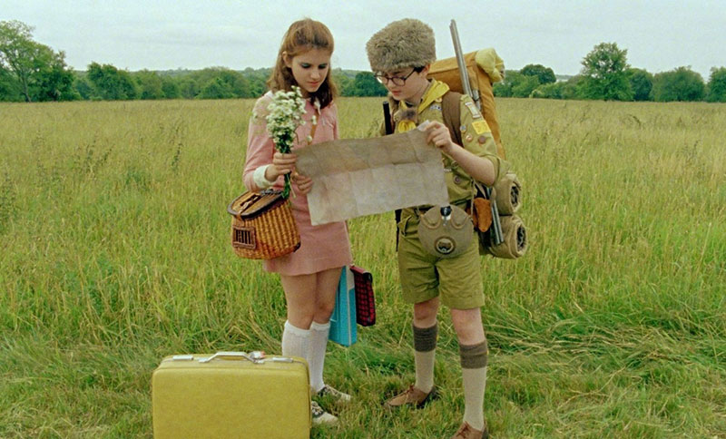 image from the film MOONRISE KINGDOM