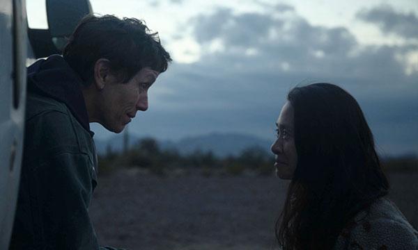 Scene from the film Nomadland