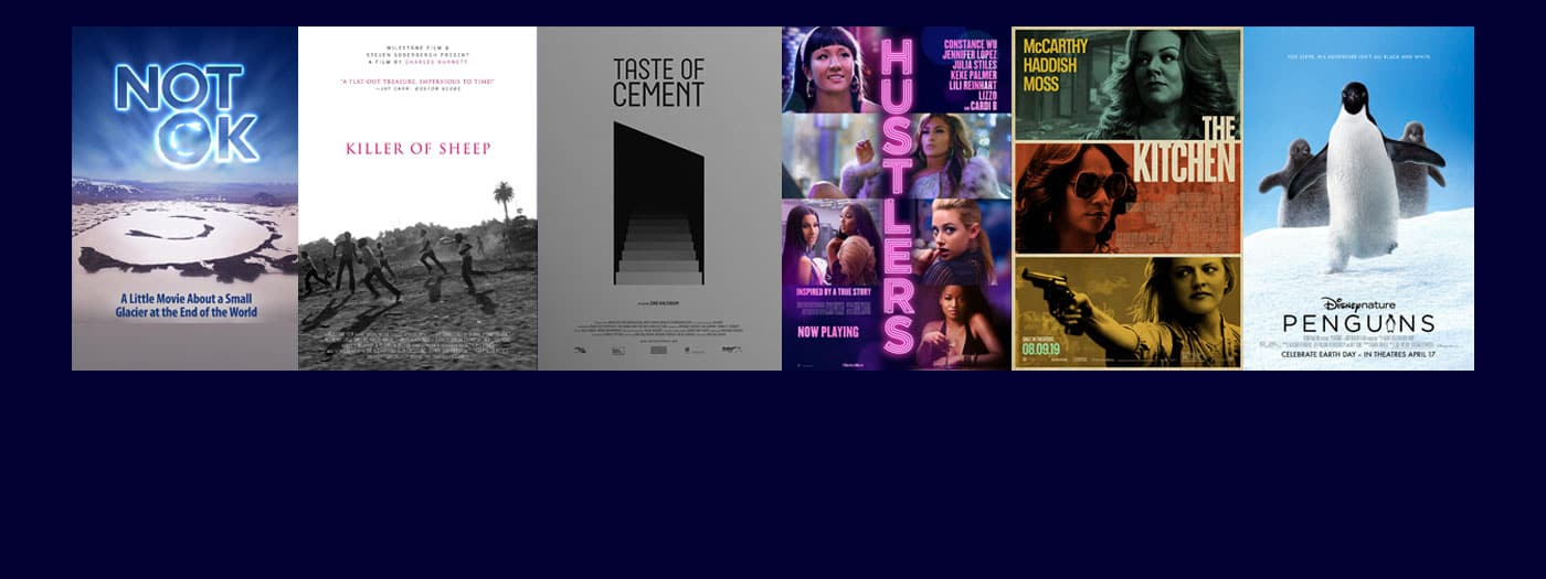 posters of films playing this week
