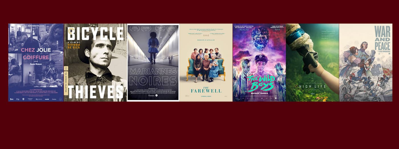 Film Posters for week of Oct 16–20