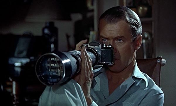 Scene from the film Rear Window