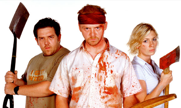 Scene from the film Shaun of the Dead