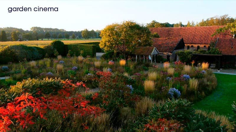 Garden Cinema: photo from Five Seasons: the Gardens of Piet Oudolf
