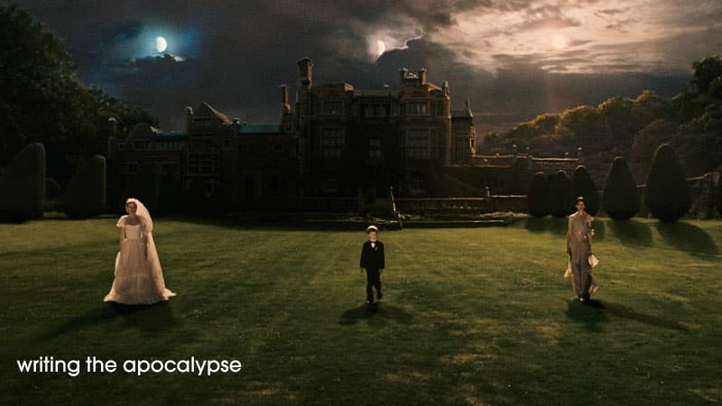 Writing the Apocalypse: photo from MELANCHOLIA