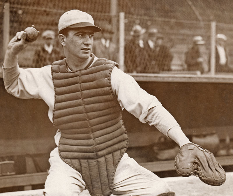 Image from film THE SPY BEHIND HOME PLATE