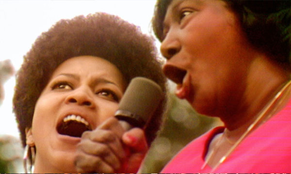 Scene from the film Summer of Soul (…Or, When the Revolution Could Not be Televised)