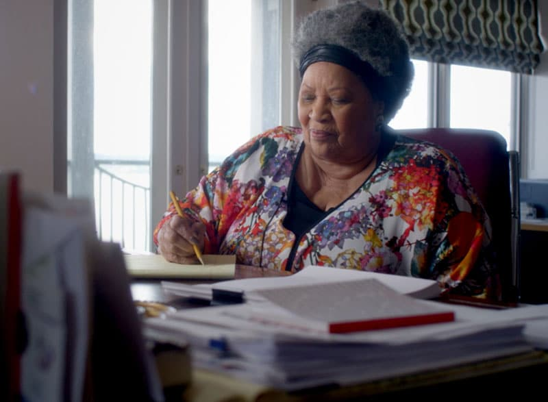 image from the film Toni Morrison: The Pieces that I Am
