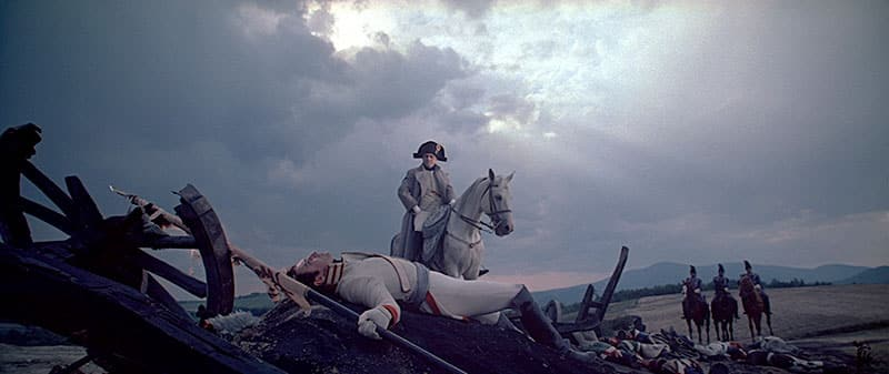 image from the film WAR & PEACE